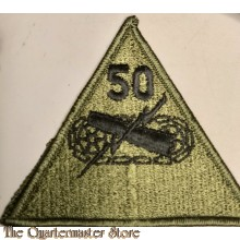 Formation patch 50th Armored Division (Subdued)