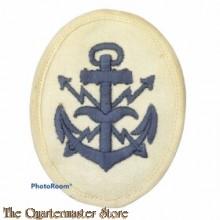 KM Laufbahnabzeichen Flugmeldemaat  (Kriegsmarine Aircraft Warning Service career sleeve insignia)