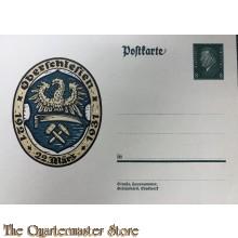 uralte AK, Postkarte, Oberschlesien 22. März 1921 - 1931, Wappen