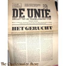 Krant de Unie no 17, 14 december 1940