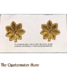 Rank insignia US Army Major 1983