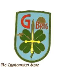 Mouwschild metaal G-brigade (42 Z.I.B.)