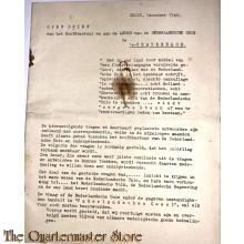 Open brief aan het Hoofdbestuur en Leden van de Nederlandsche Unie 1940