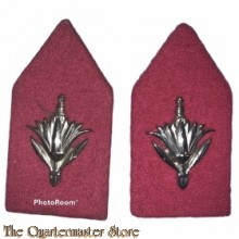 Kraag emblemen Korps Militaire Administratie