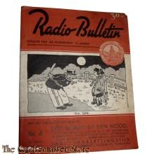 Radio Bulletin no 4 1945 de Muiderkring te Muiden