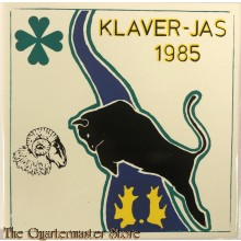 Keramische tegel  Operation Klaver-Jas