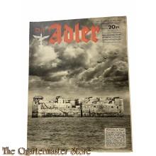 Zeitschrift Der Adler heft 12 ,8 juni 1943 (Magazine Der Adler no  12 ,8 juni 1943 )