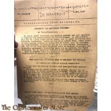 Krant de Waarheid 8 mei 1945