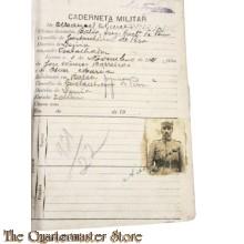 Portugal - Militair zakboekje (Caderneta Militar)
