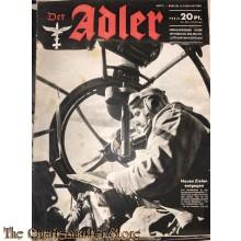 Zeitschrift Der Adler heft 1 ,6 jan 1942 (Magazine Der Adler no  1 ,6 jan 1942 )