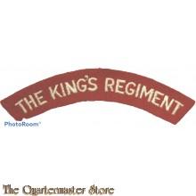 Shoulder flash the King's Regiment