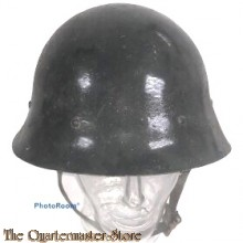 Helmet Czechoslovakia Vz32/34 re-issued by the Germans to Luftschutz units