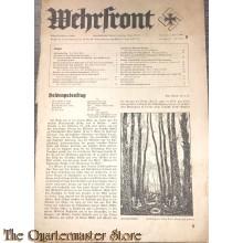 Blad Wehrfront jahrgang 3 no 5 1 März 1935