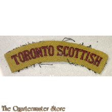 Shoulder flash Toronto Scottish,  4th Canadian Division