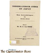 Book - Nederlandsch-Indie en Japan 1940-1941