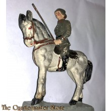 """Ëlastolin"" WH Reiter mit Lanse (""Elastolin"" German mounted soldier wit Lance)"