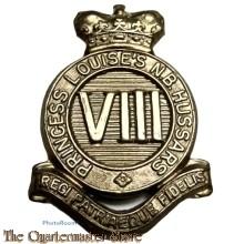 Cap badge 8th Hussars 1920-1936