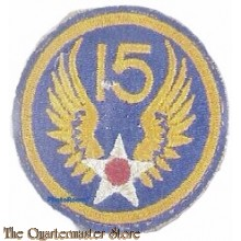 Mouwembleem 15th Air Force (Sleeve patch 15th Air Force)