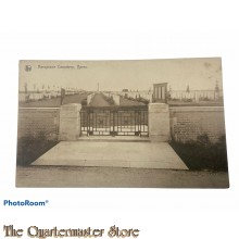 Postcard 1918 Airoplane Cemetry Ypres