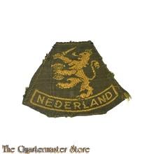 Mouwleeuw NEDERLAND 1945-1950 (geweven)