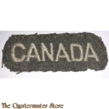 Shoulder title CANADA (rounded)