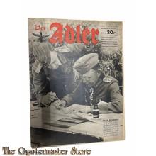 Zeitschrift Der Adler heft 17, 17 august  1943  (Magazine Der Adler No 17, 17 august 1943)