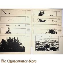 10 militaire kaarten mobilisatie 1914