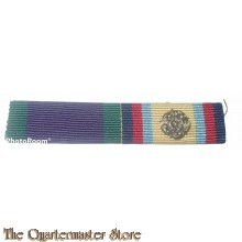 Ribbons General Service Medal (1962) and Gulf Medal with rosette