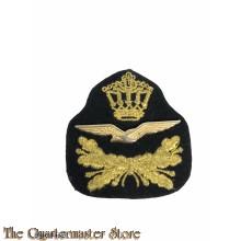 Pet embleem KLu (Cap badge Dutch Royal Airforce)