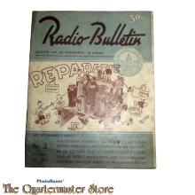 Radio Bulletin no 3 1943 de Muiderkring te Muiden in WW2