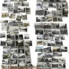 144 zwart/wit foto's soldaat Nederlands-Indië