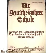 Die Deutsche Hohere Schule 1937 heft 15/16