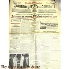 Zeitung Hamburger Fremdenblatt 23 dec 1935
