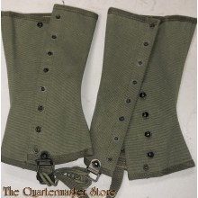 US Army Leggings, Canvas Dismounted, M1938 OD