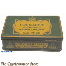 Zigaretten dose Batschari   (Tin Cigarettes Batschari)
