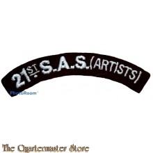 Schouder titel 21st S.A.S. (Artists)