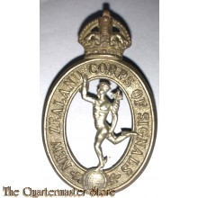Cap badge New Zealand Corps of Signals 1930-1942