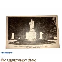 Postcard 1914-18 La Ferte-sous-Jouarre (S.-et-M.) monument aux Morts