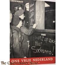 Ons vrij Nederland 1945 , Op weg naar de Oost   5e jrg no 22