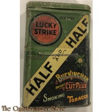 Tin Pipe tobacco Luckey Strike Half and Half