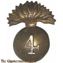Cap badge 4th Bombay Grenadiers, post 1922, Indian Army