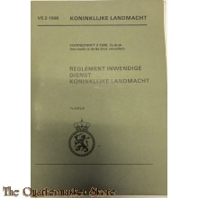 Voorschrift 2-1500 Reglement inwendige Dienst K.L.