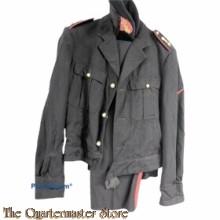 Battledress met broek en baret Mariniers 'Blauwe Buis' 1962