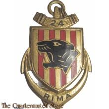 Insigne French 24th Marine Infantry Regiment