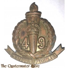 Cap badge 49th Inf Bat (The Stanley Regiment) 1930-1943