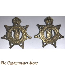Collar badges 24th Inf Bat The Kooyong Regiment