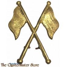 Trade badge Signaller Proficiency in Signals (brass)