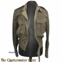 Battle Dress en broek 1e Lt Regiment Geneeskundige Troepen