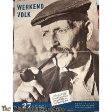 NSB maandblad Werkend Volk 2 jrg nr 27 , 131 December 1943