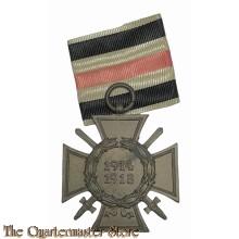 Ehrenkreuz für Frontkämpfer (Hindenburg Cross  for combattants 1914-18)  R.S.I.